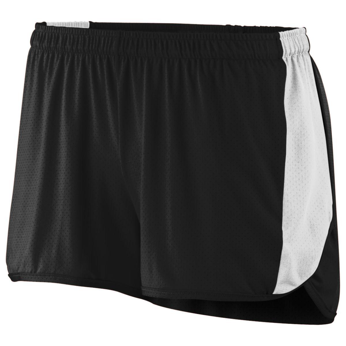 Ladies Sprint Shorts - BLACK/WHITE