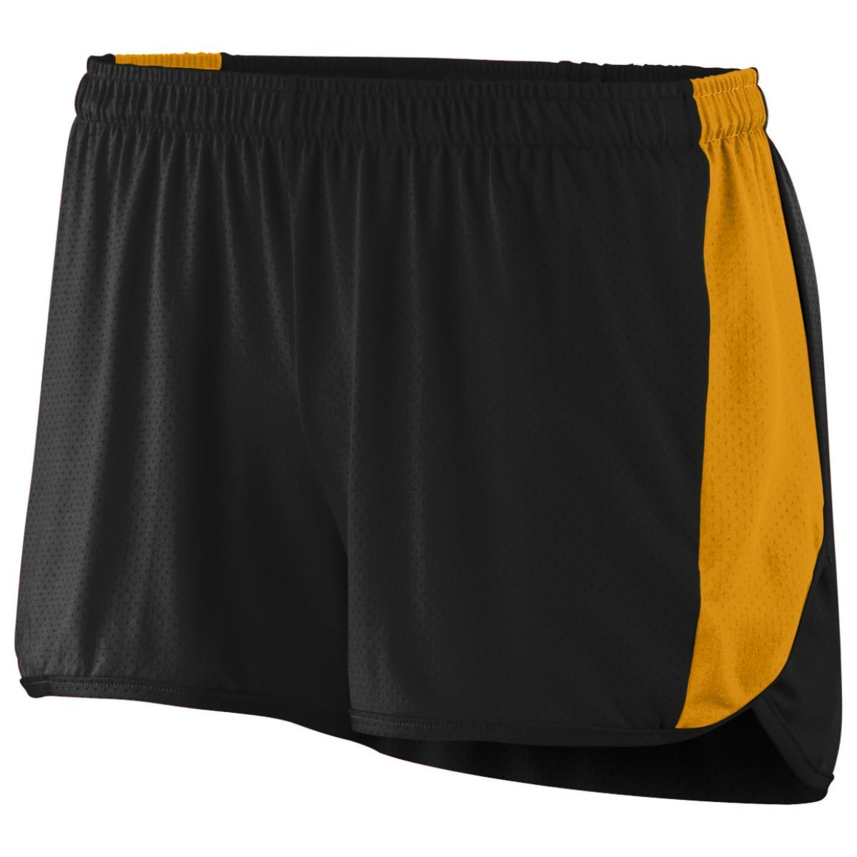 Ladies Sprint Shorts - BLACK/GOLD