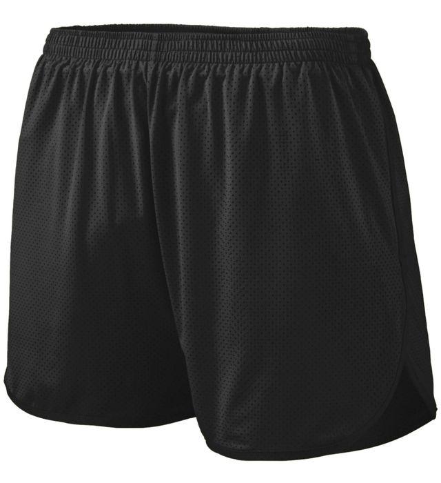 Solid Split Shorts