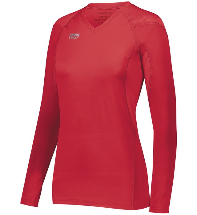 Image for Girls TruHit Long Sleeve Jersey from ASG