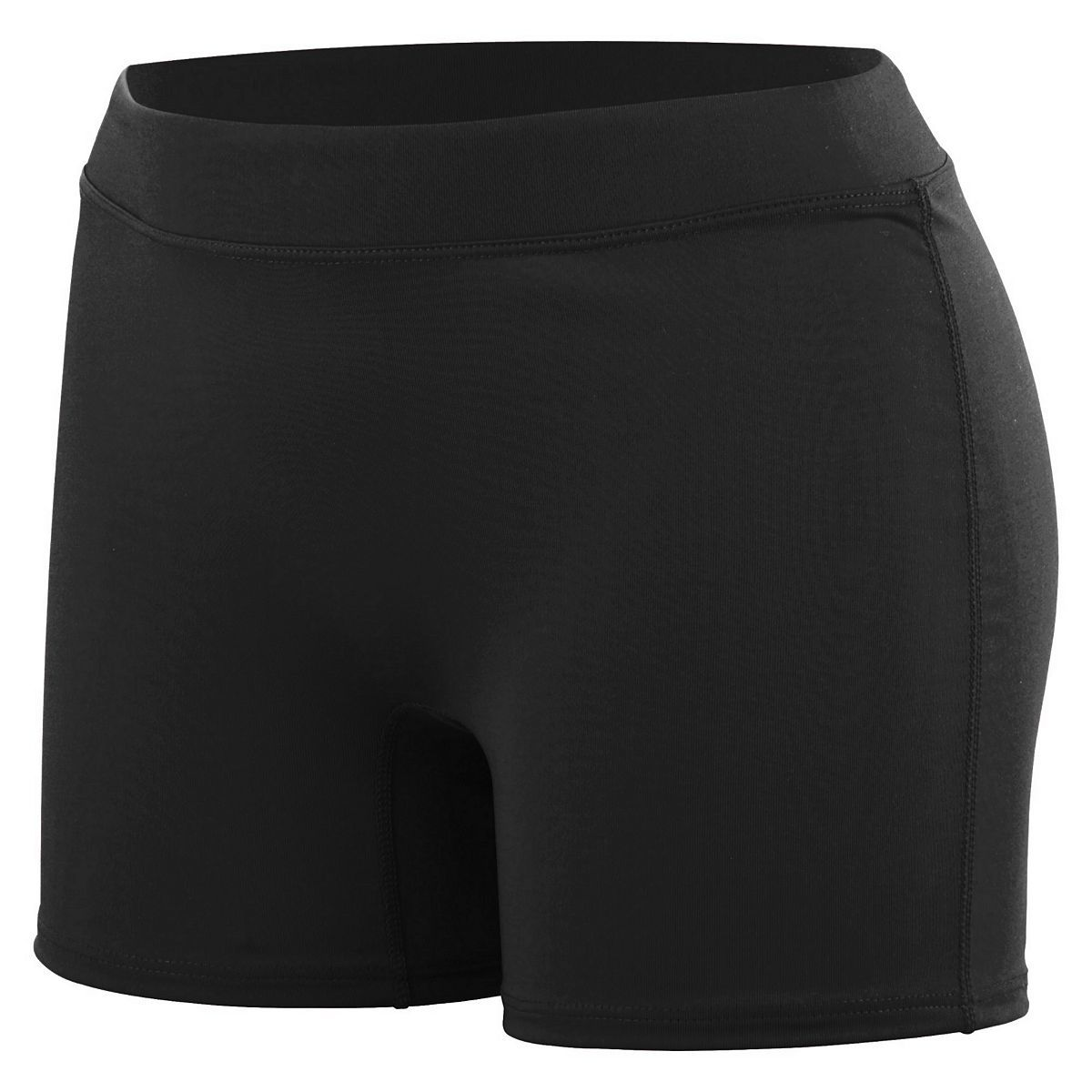 Ladies Knock Out Shorts - BLACK