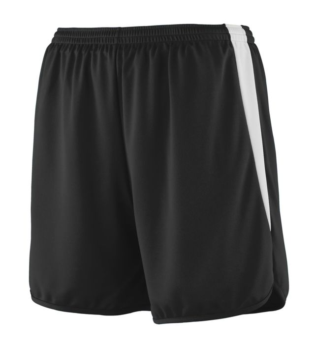 Augusta Sportswear Youth Block Out Shorts S White//White