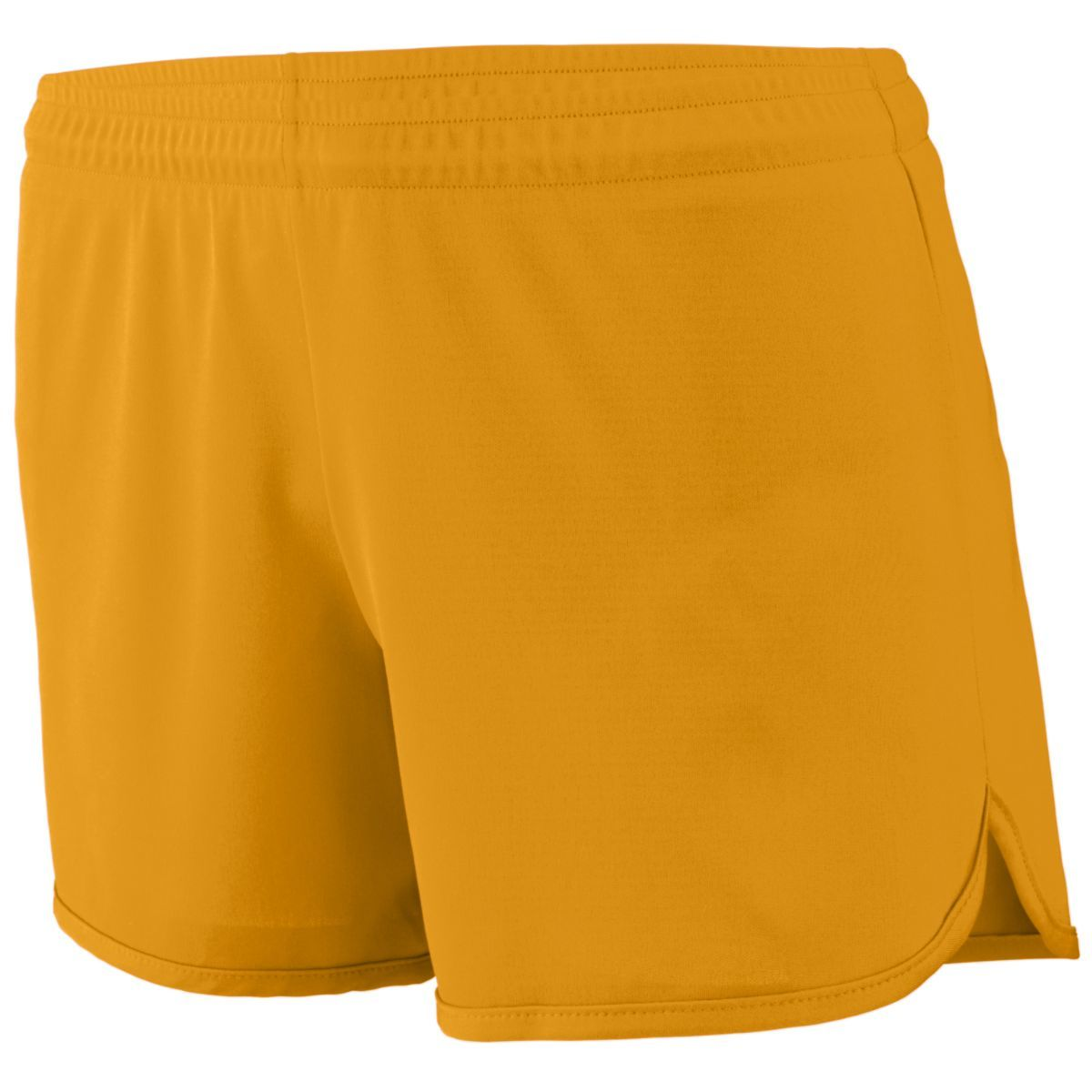 Ladies Accelerate Shorts - GOLD