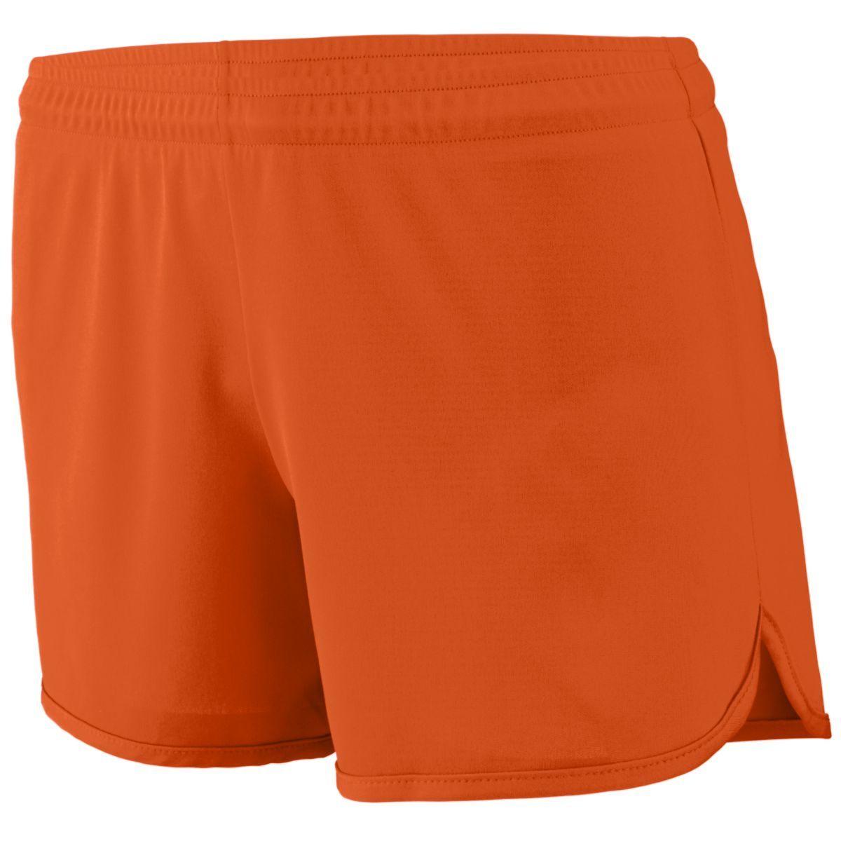 Ladies Accelerate Shorts - ORANGE