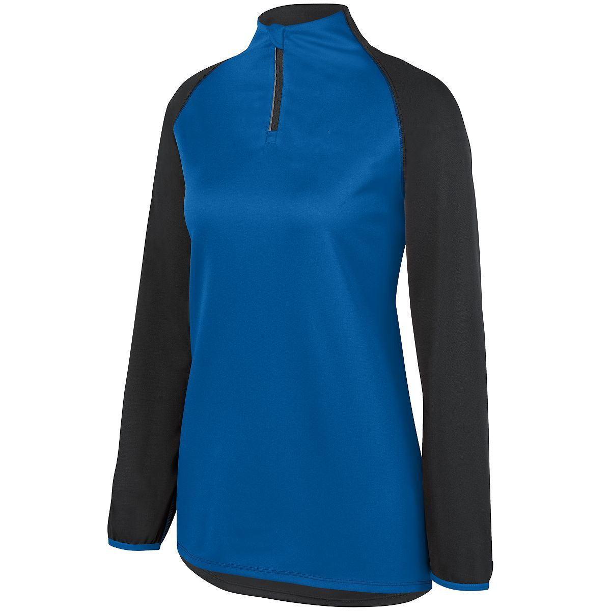 Ladies Record Setter Pullover - SLATE/ROYAL