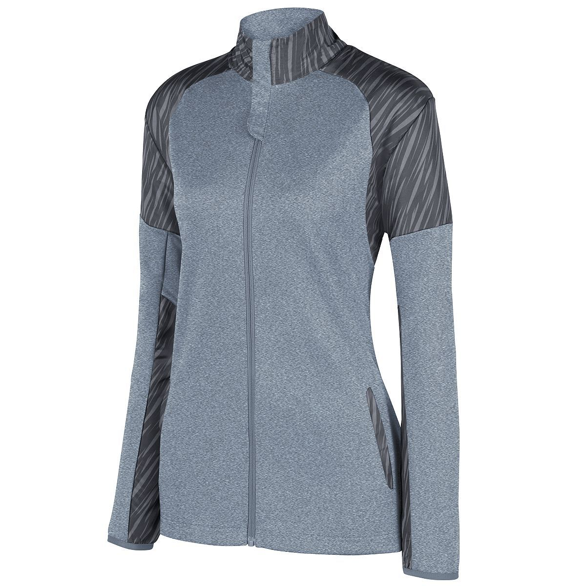 Ladies Breaker Jacket - GRAPHITE HEATHER/SLATE