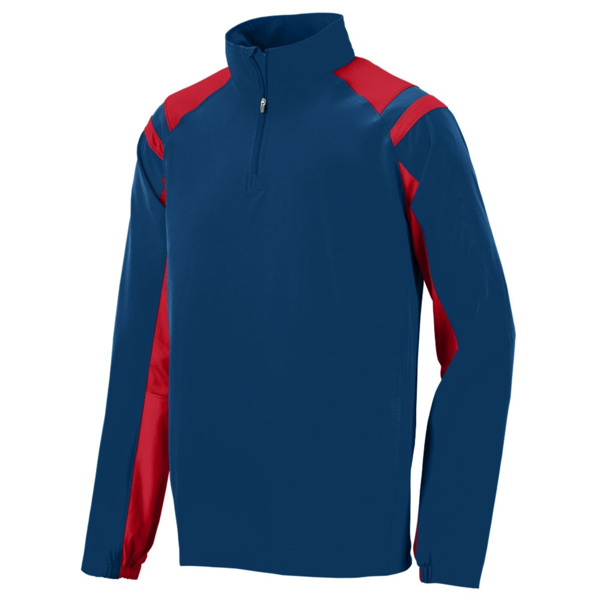 Doppler Pullover - NAVY/RED