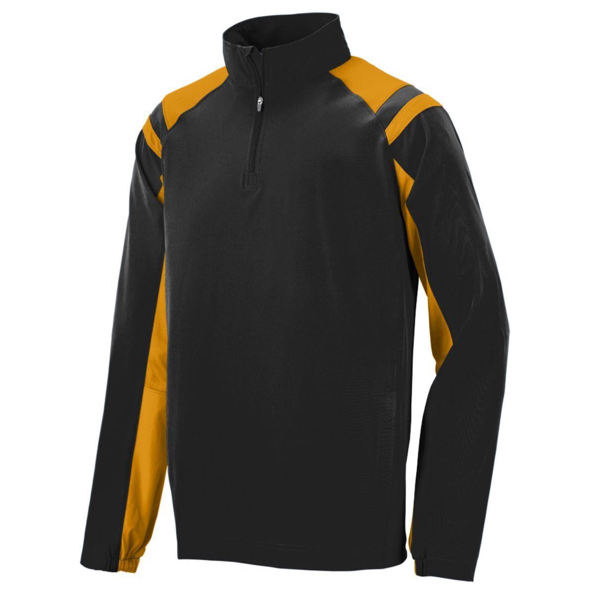 Doppler Pullover - BLACK/GOLD