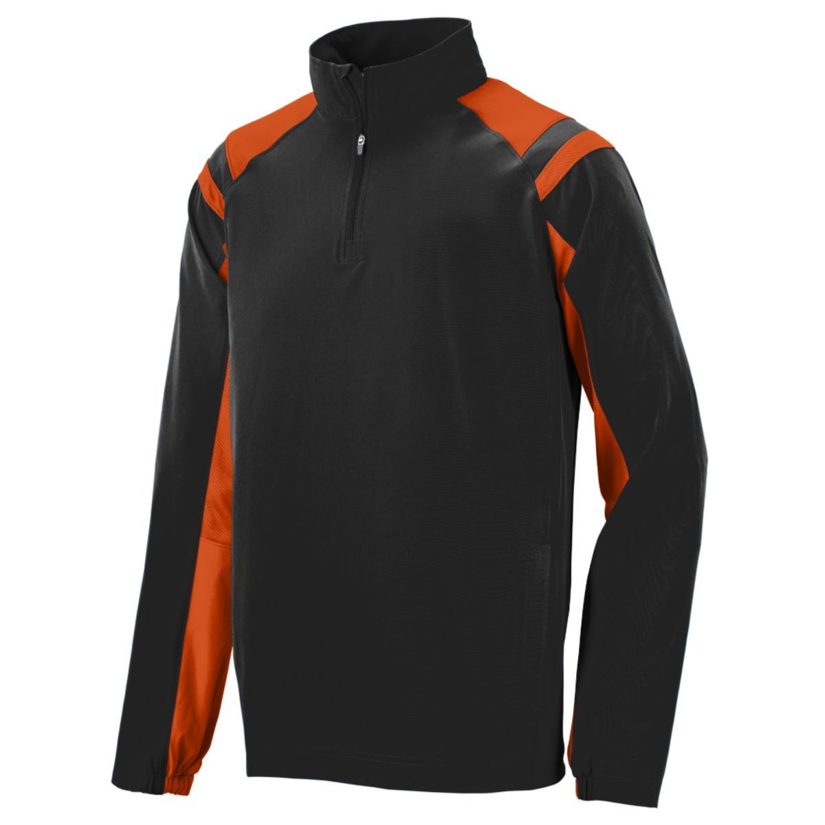 Doppler Pullover - BLACK/ORANGE