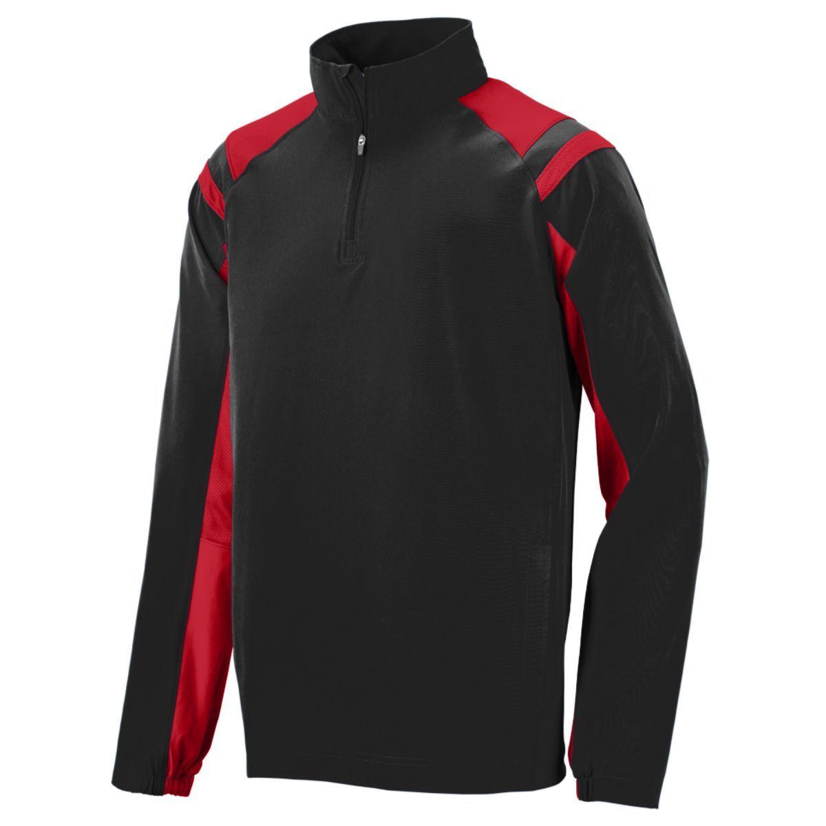 Doppler Pullover - BLACK/RED
