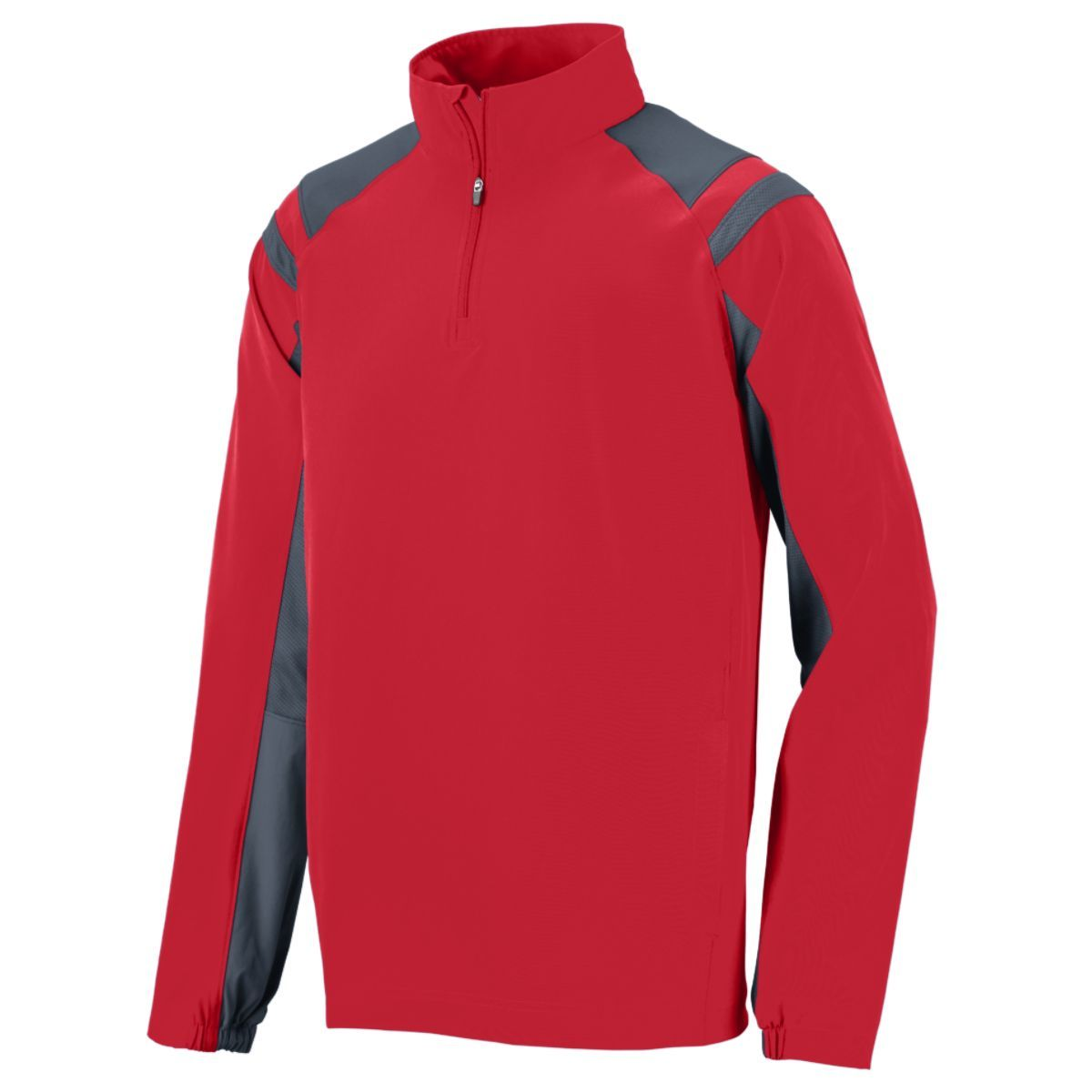 Doppler Pullover - RED/GRAPHITE
