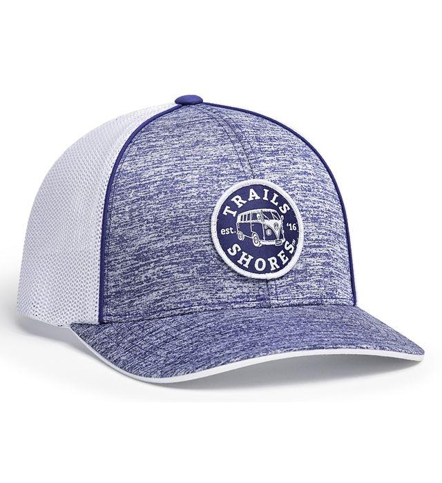 Aggressive Heather Trucker Flexfit® Cap