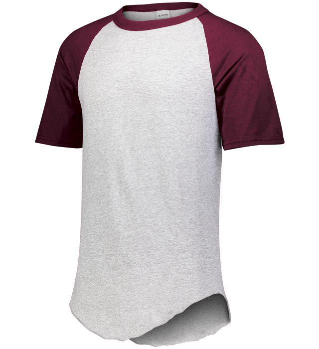 Youth Short Sleeve Baseball Jersey