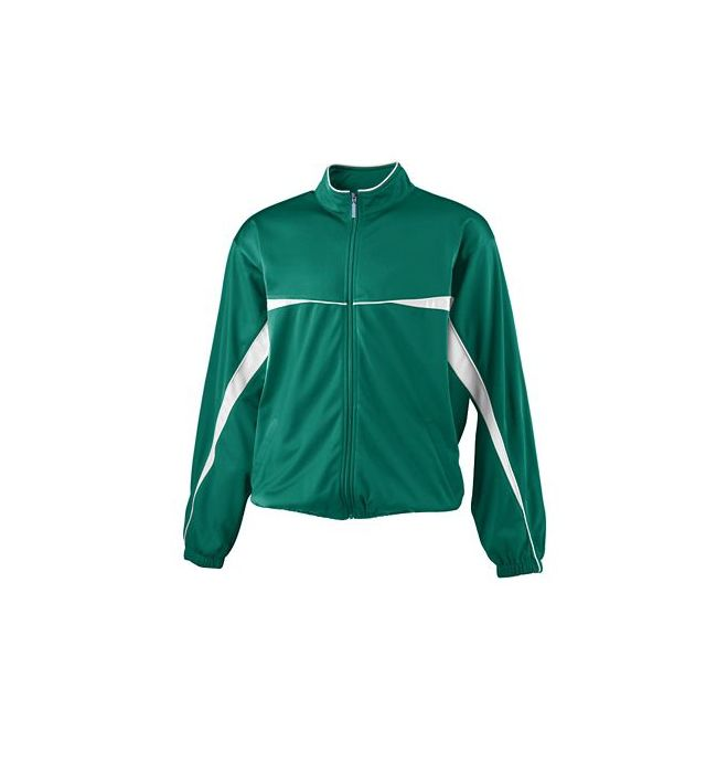 Youth Two Color Brushed Tricot Jacket