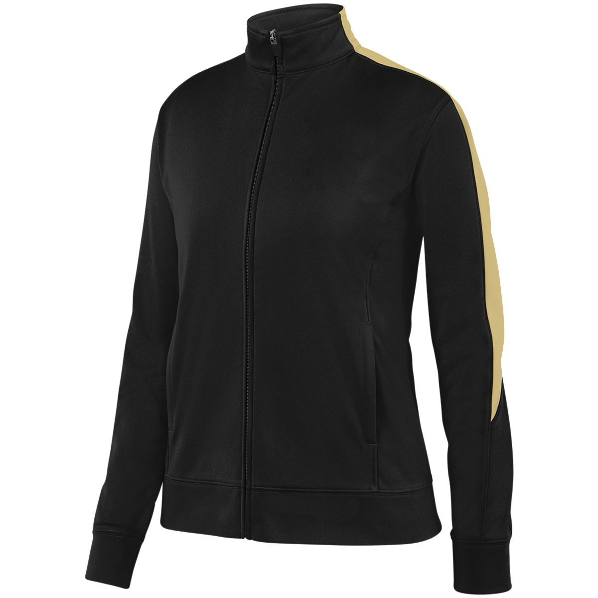 Ladies Medalist Jacket 2.0 - BLACK/VEGAS GOLD