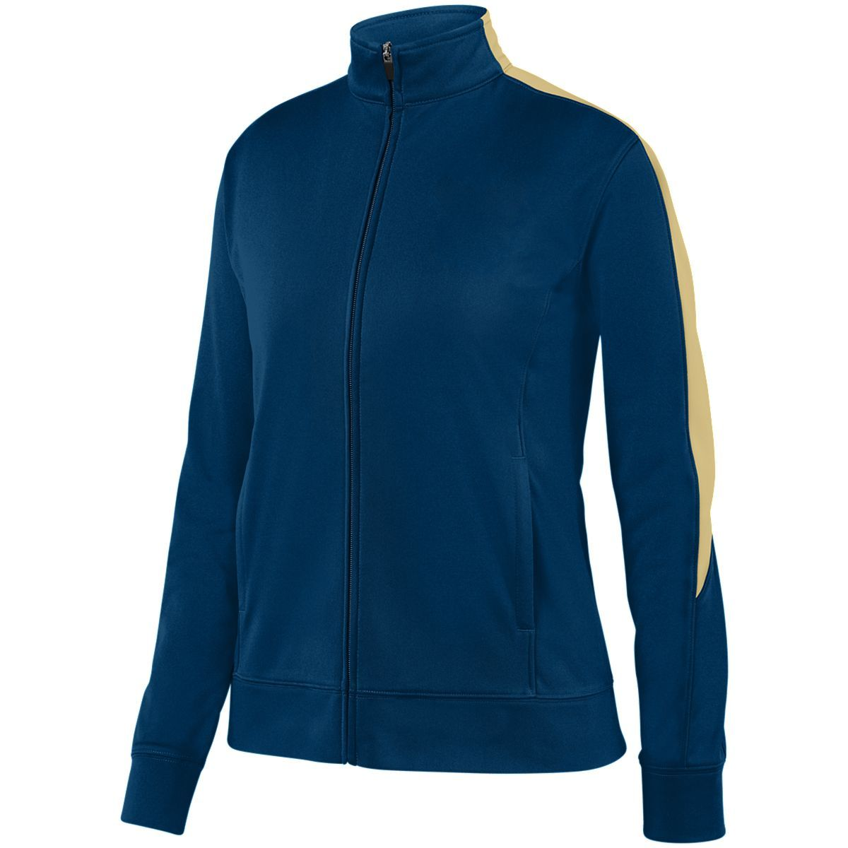 Ladies Medalist Jacket 2.0 - NAVY/VEGAS GOLD