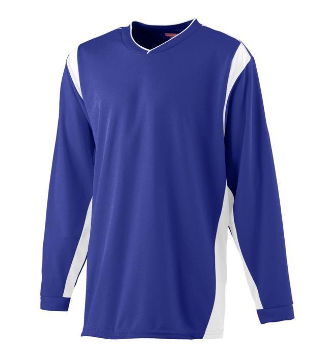 Wicking Long Sleeve Warm Up Shirt