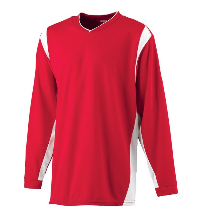 Wicking Long Sleeve Warmup Shirt
