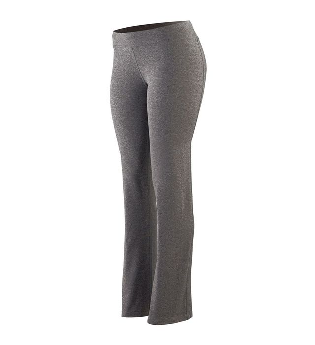 Girls Wide Waist Brushed Back Poly/Spandex Pant