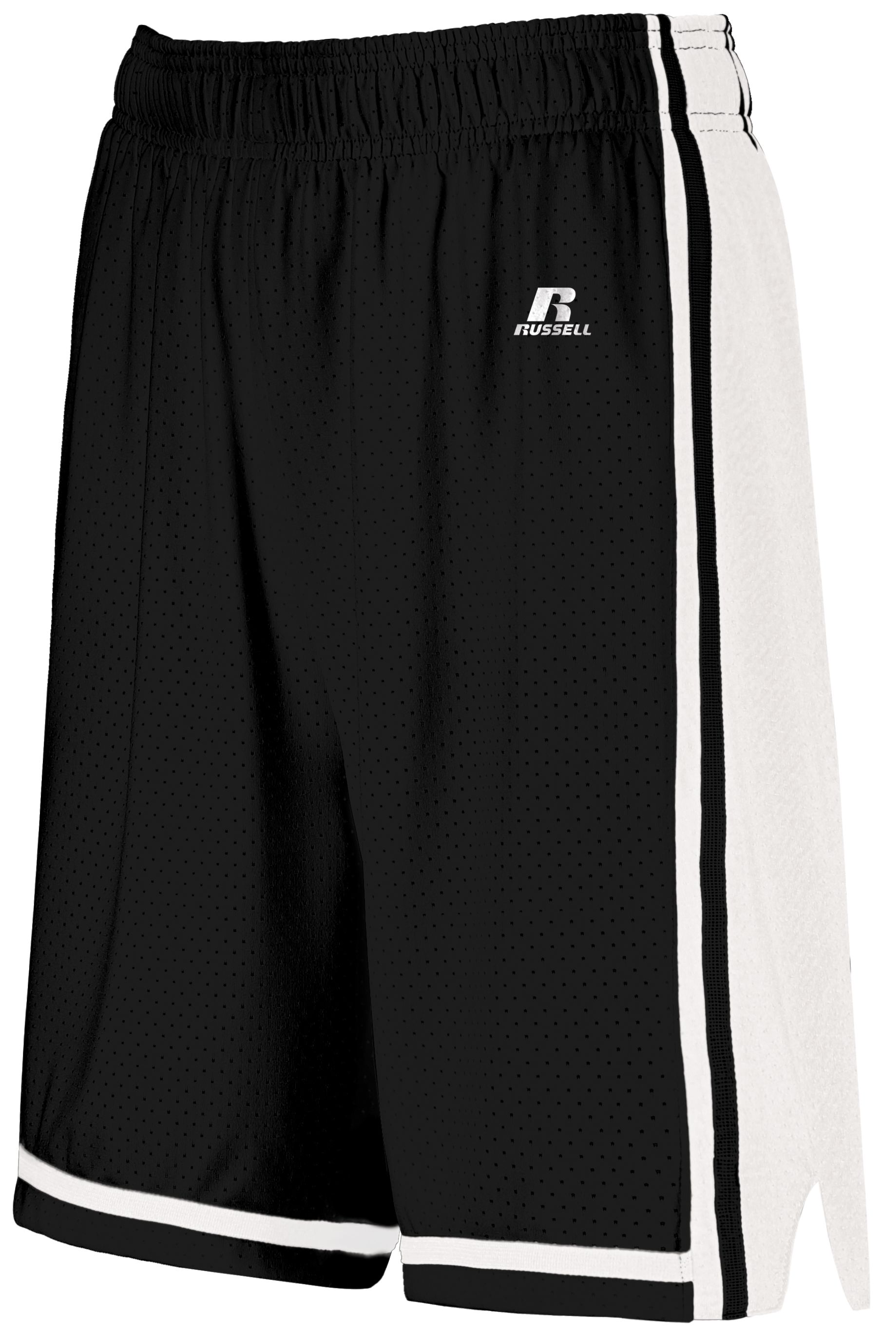 Ladies Legacy Basketball Shorts - Black/white