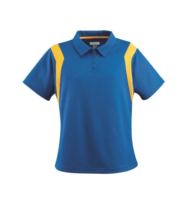 Ladies Wicking Textured Sideline Polo