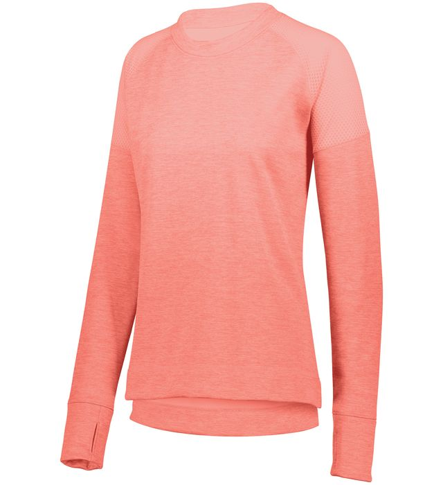 Ladies Zoe Tonal Heather Pullover