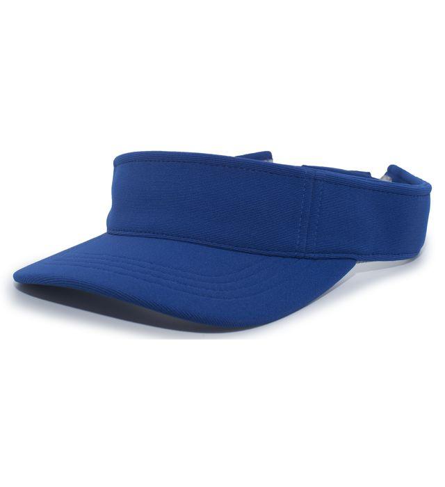 Pacific Headwear Coolport Hook-and-Loop Adjustable Visor