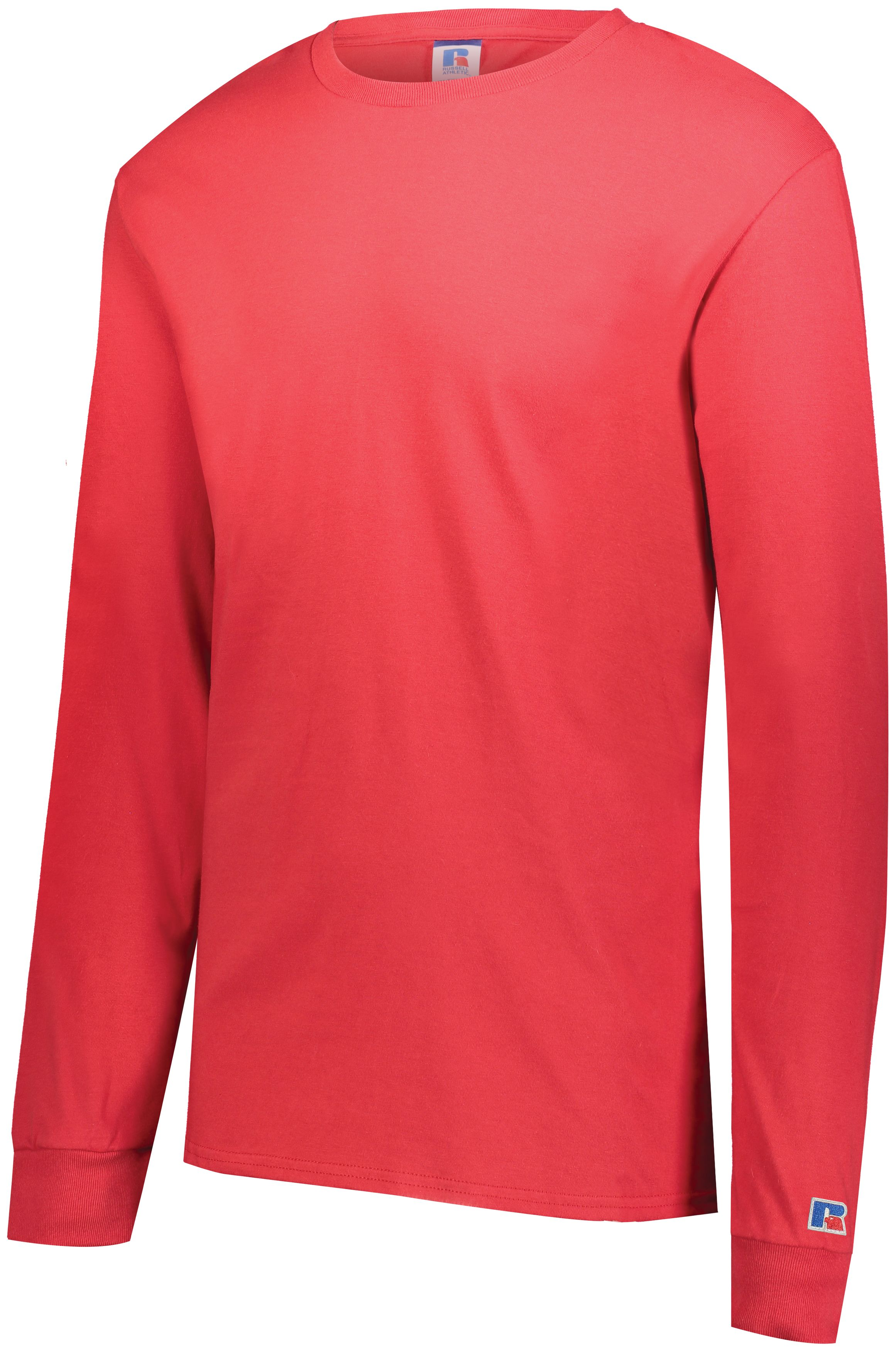Cotton Classic Long Sleeve Tee - TRUE RED