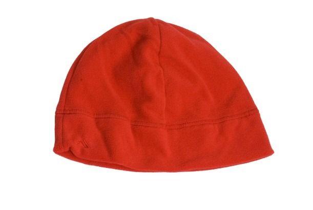 Fleece Beanie - RED