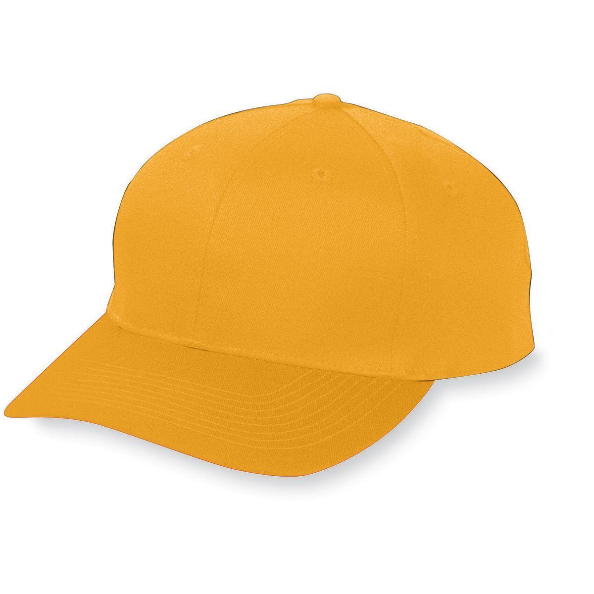 Six-Panel Cotton Twill Low-Profile Cap - GOLD