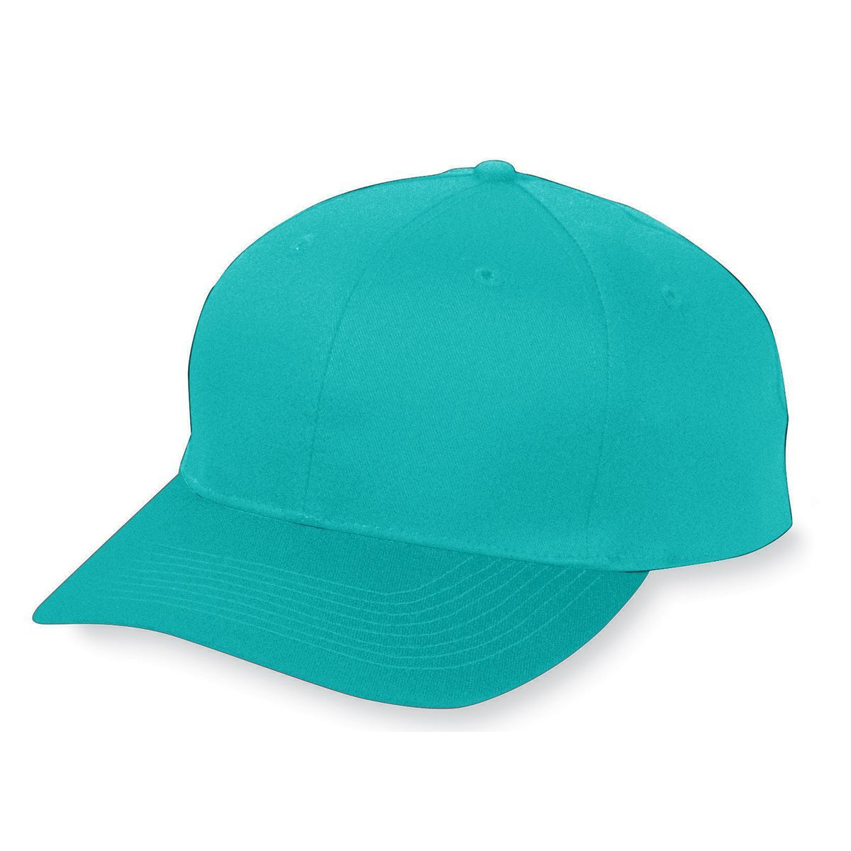 Six-Panel Cotton Twill Low-Profile Cap - TEAL