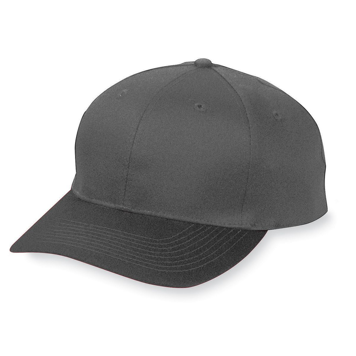 Six-Panel Cotton Twill Low-Profile Cap - BLACK