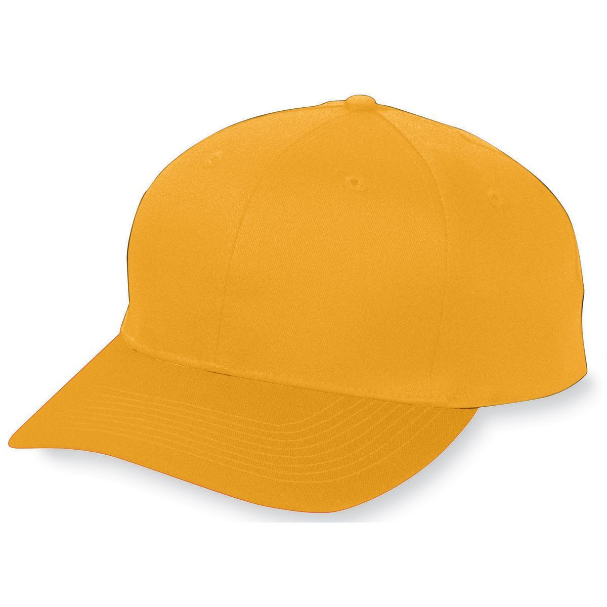 Youth Six-Panel Cotton Twill Low-Profile Cap - GOLD