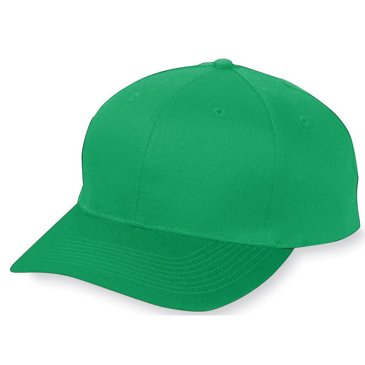 Youth Six-Panel Cotton Twill Low-Profile Cap - KELLY