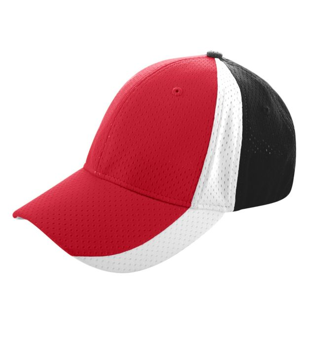 Sport Flex Three-Color Athletic Mesh Cap