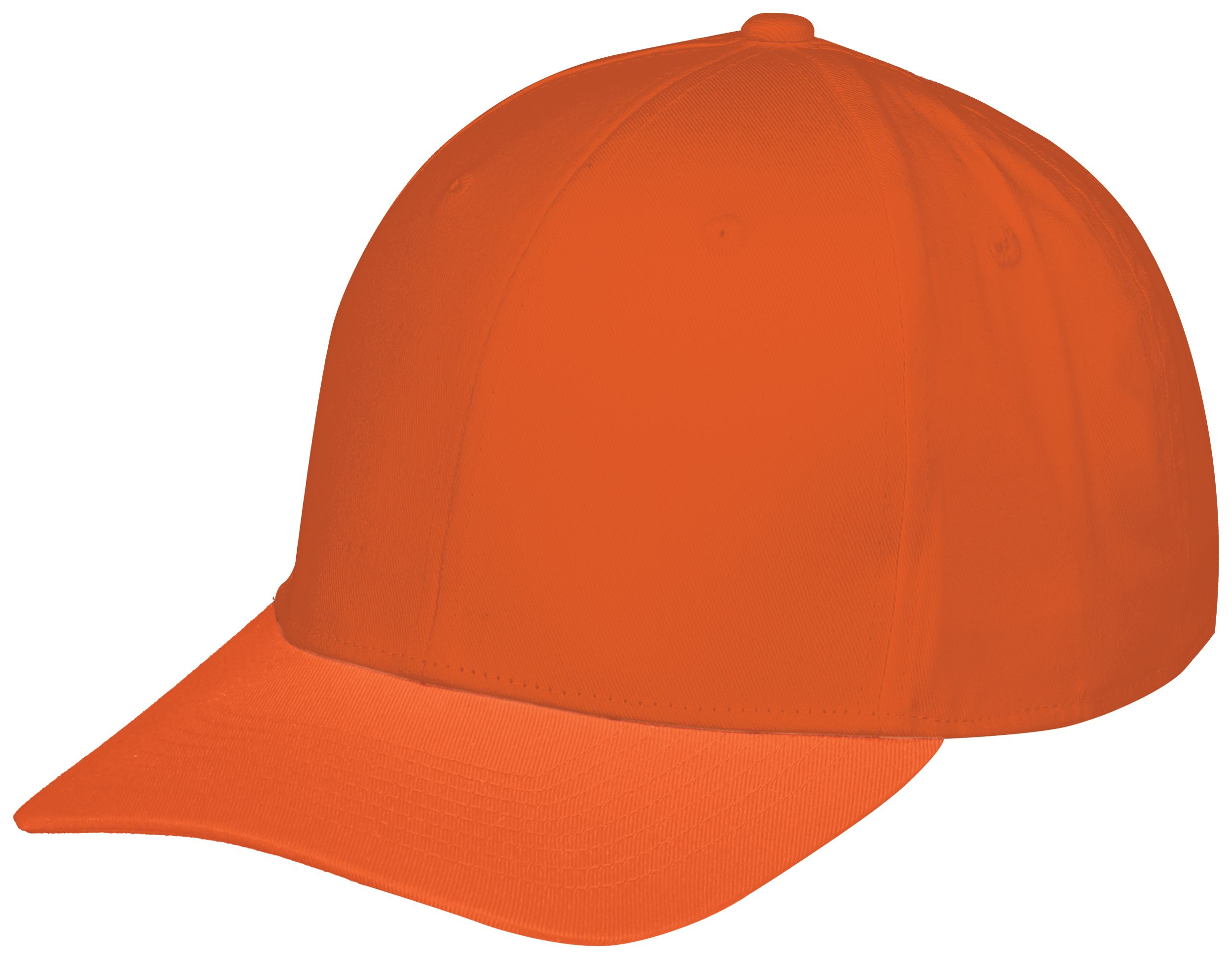 Youth Rally Cotton Twill Cap - Orange