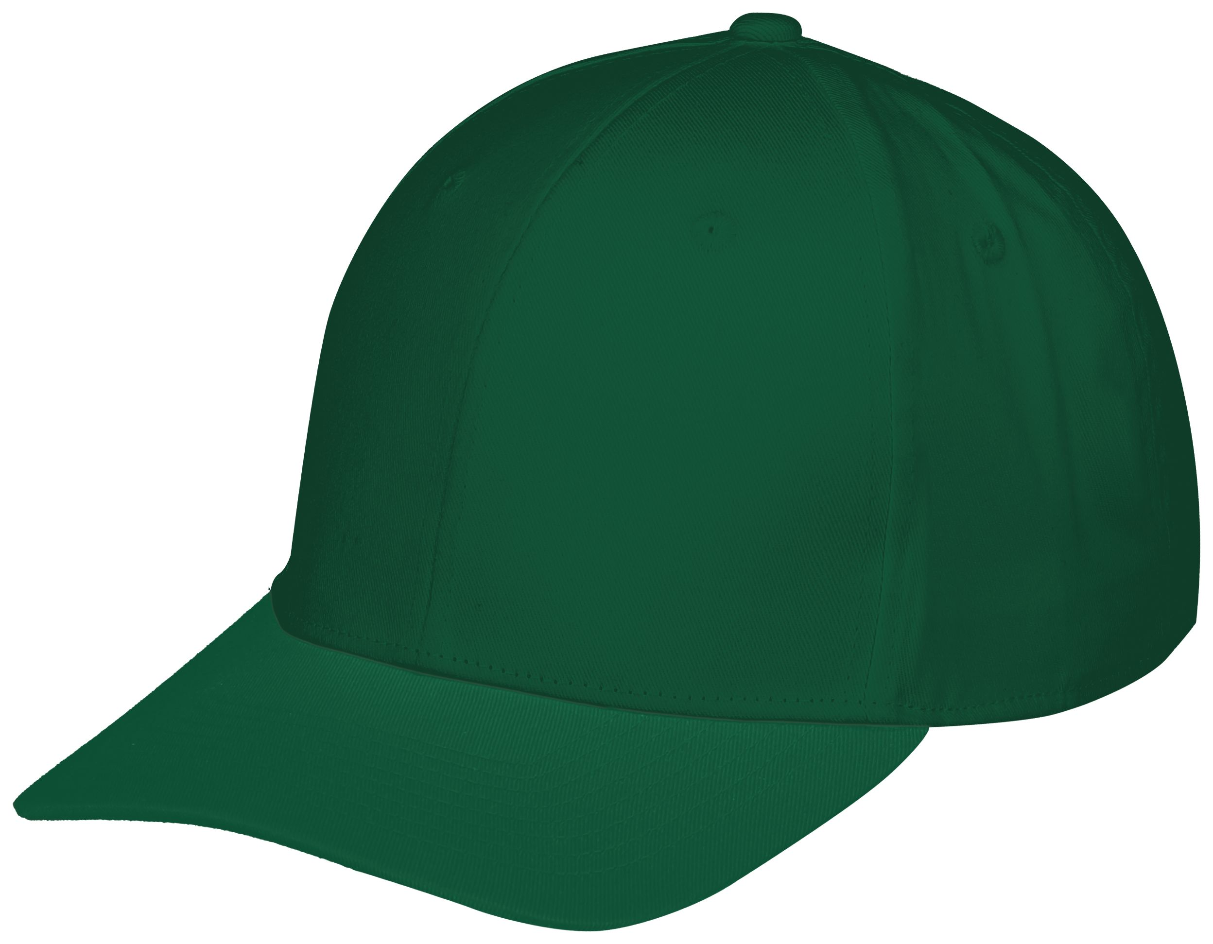 Youth Rally Cotton Twill Cap - Dark Green
