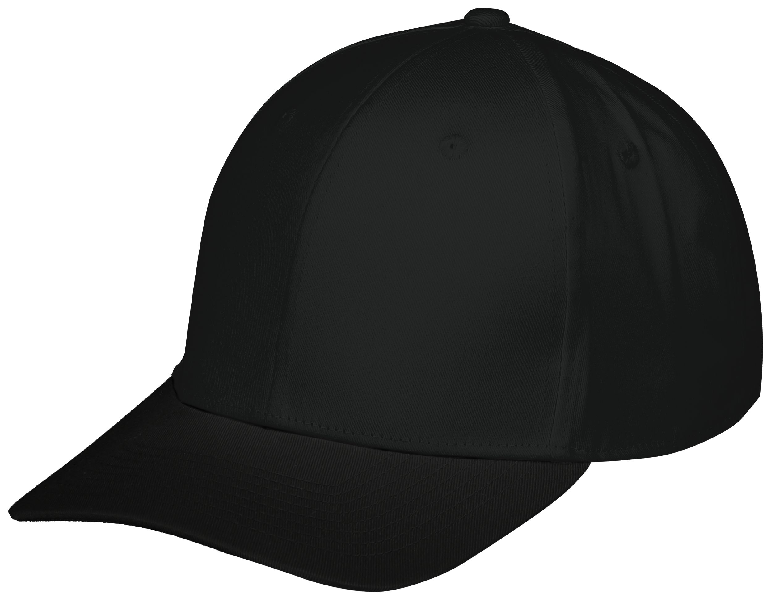 Youth Rally Cotton Twill Cap - Black