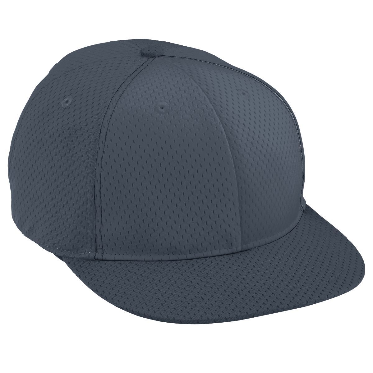 Youth Athletic Mesh Flat Bill Cap - GRAPHITE/GRAPHITE/GRAPHITE