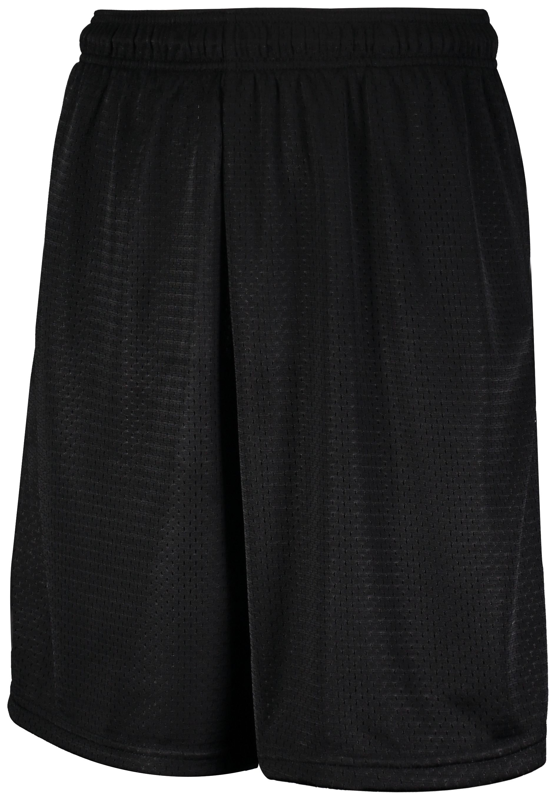 Mesh Shorts With Pockets - Black