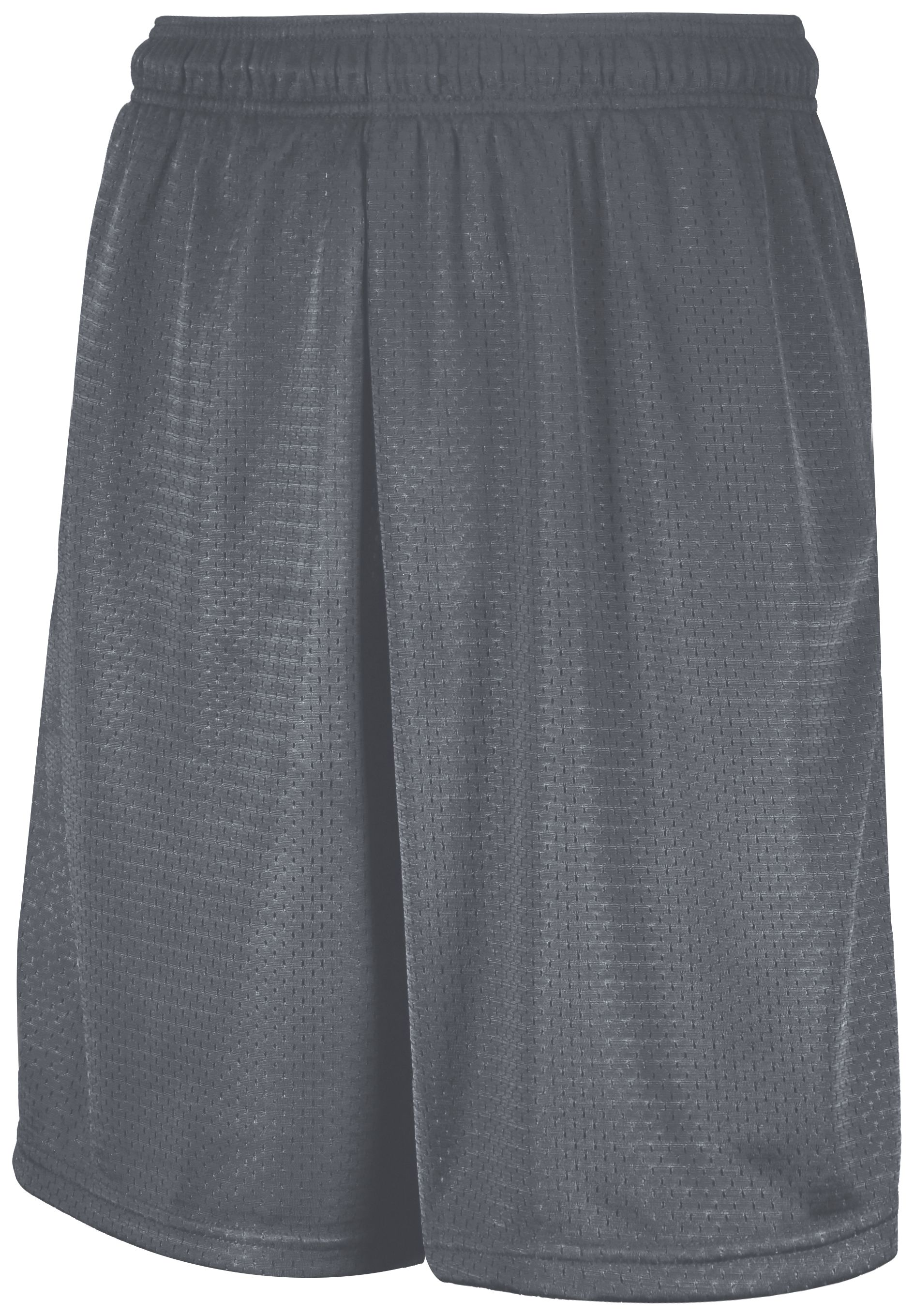 Mesh Shorts With Pockets - Steel