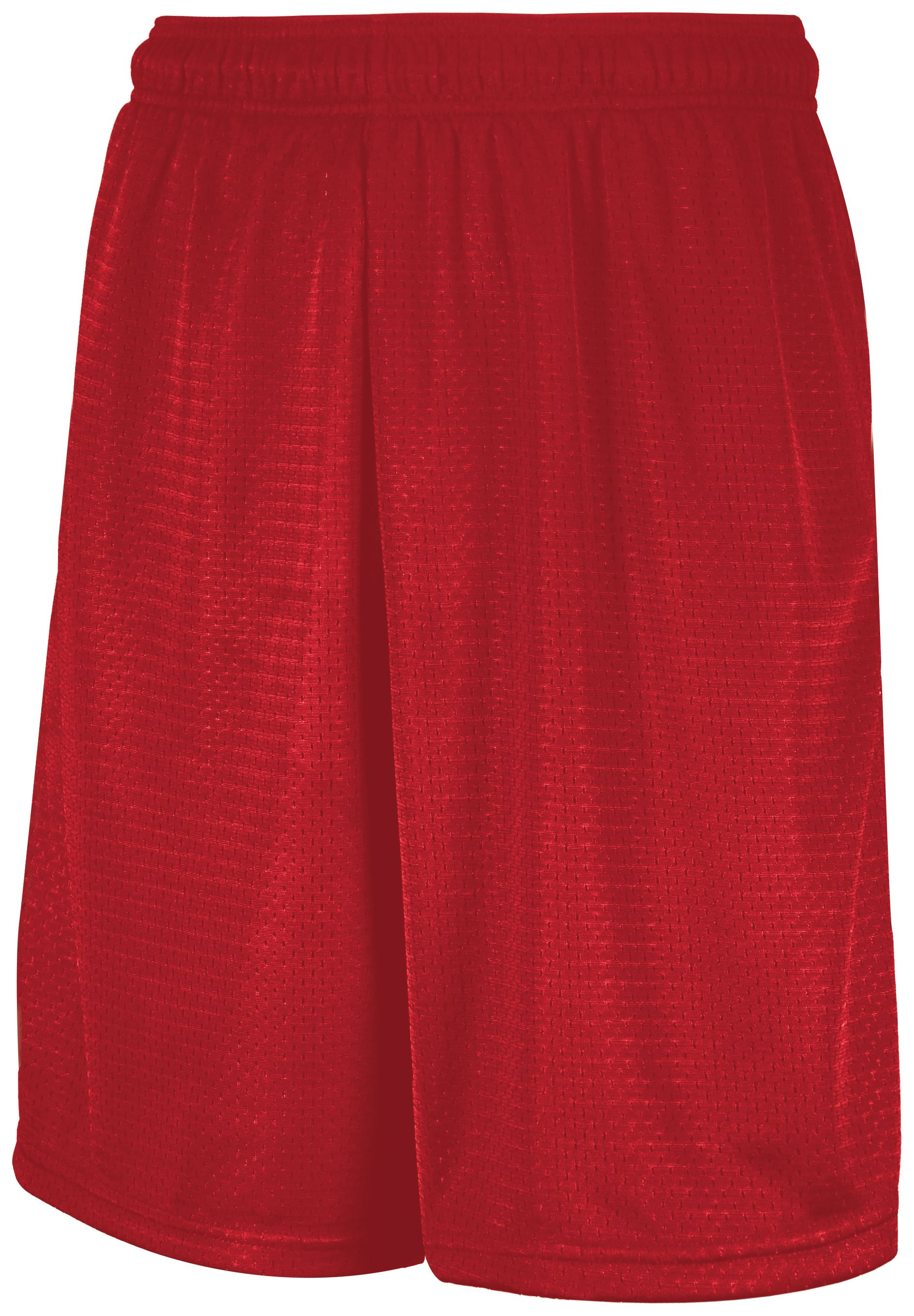 Mesh Shorts With Pockets - True Red