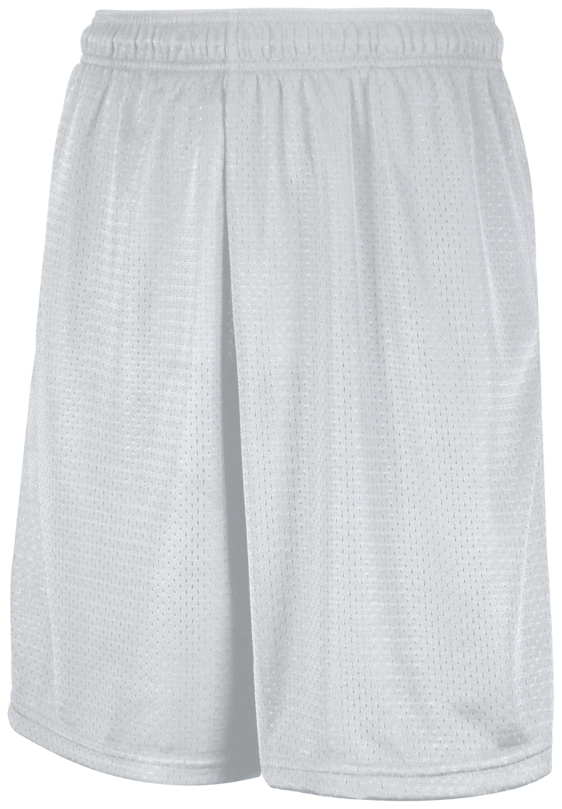 Mesh Shorts With Pockets - White
