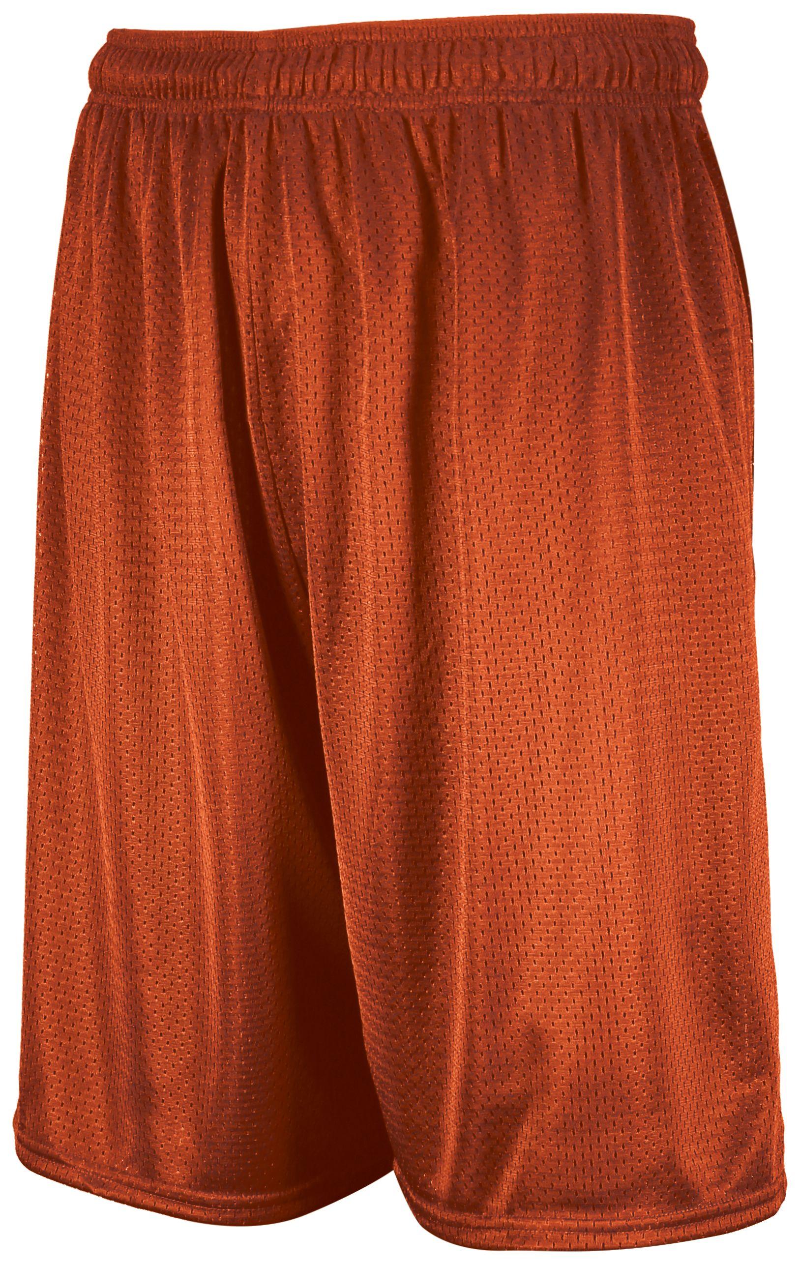 Dri-Power Mesh Shorts - Burnt Orange