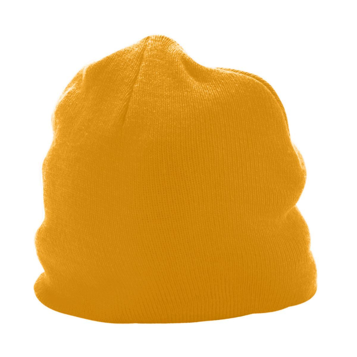 Knit Beanie - GOLD