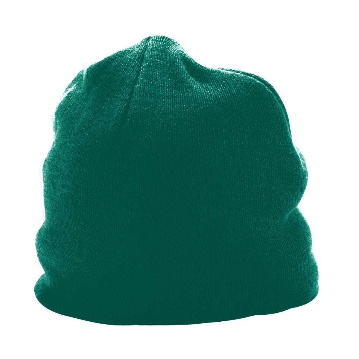Knit Beanie - DARK GREEN