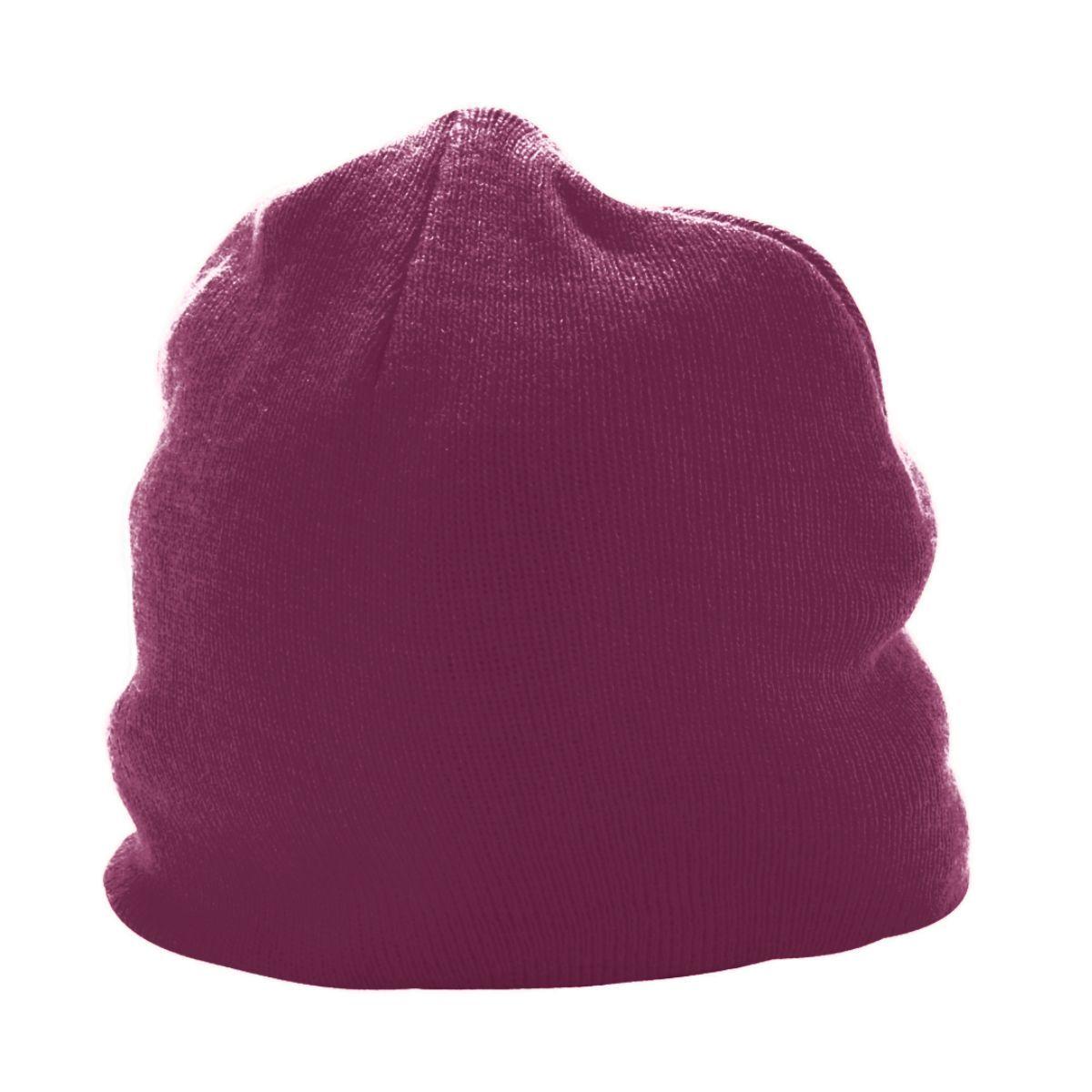 Knit Beanie - MAROON