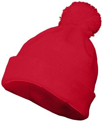 Pom Beanie - RED