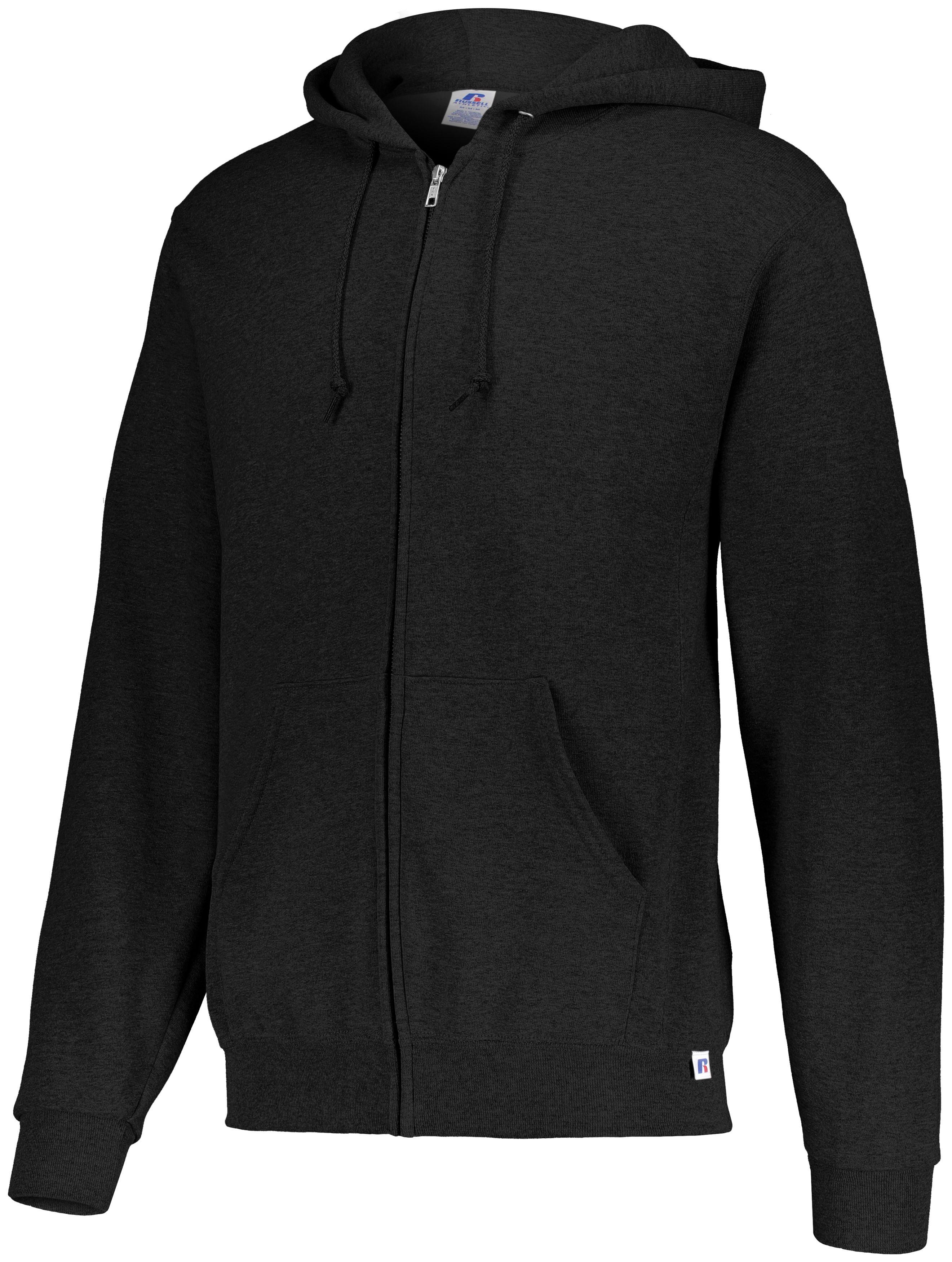 Dri-Power® Fleece Full-Zip Hoodie - Black