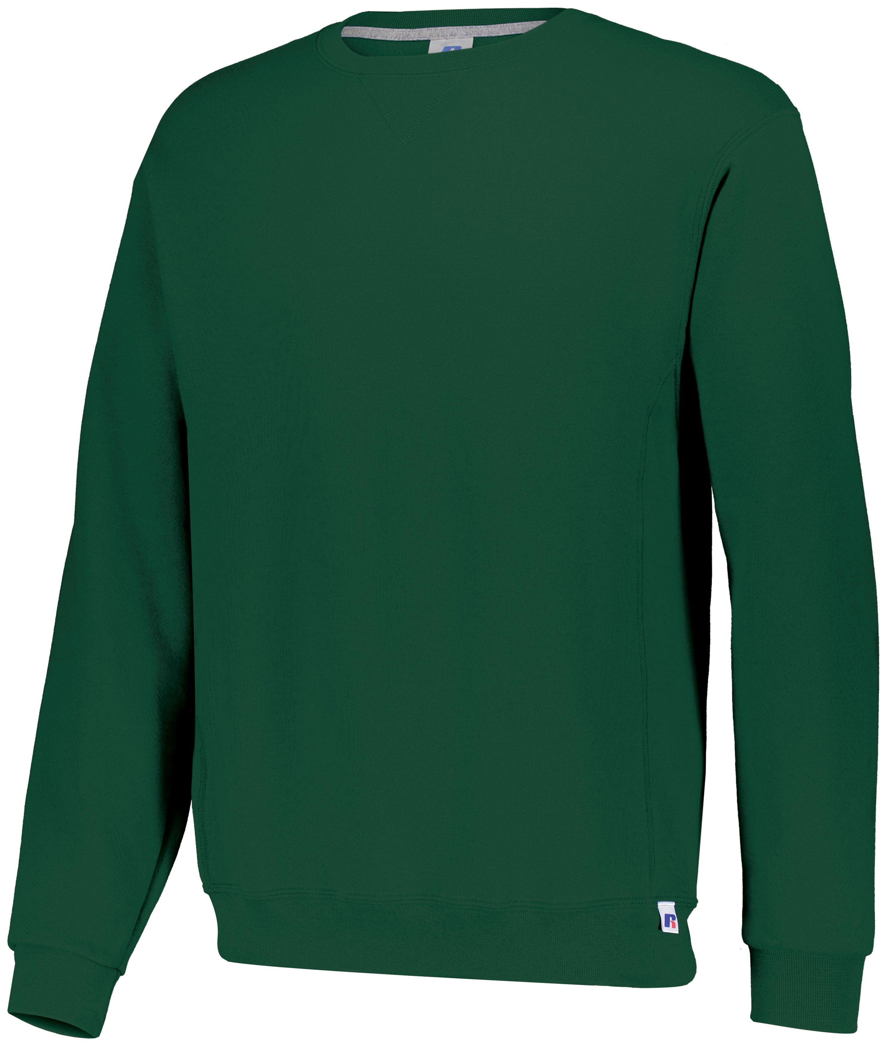 Dri-Power®  Fleece Crew Sweatshirt - Dark Green